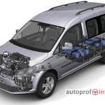 CNG dujos dabar jau standartinėje Volkswagen įrangoje