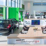 naujų automobilių prekyba