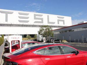 Tesla gamykla