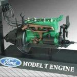 Legendiniai automobilių varikliai – Ford T visaėdis agregatas